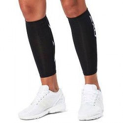 2XU Compression Calf Guards Unisex - Black - Medium