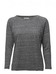 3/4 Sleeve Plain Tee Dark Grey Mele