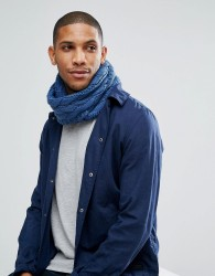 7X Cable Snood - Blue