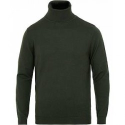 A Day's March Merino Rollneck Seaweed Green