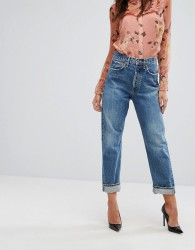 A-GOLD-E 90s Mid Rise Loose Fit Jean - Blue