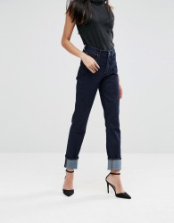 A-Gold-E Bella High Rise Slim Leg Jeans - Blue