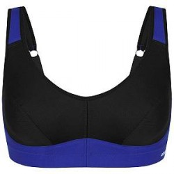 Abecita Melanie Soft Sports Bra - Black/Blue * Kampagne *