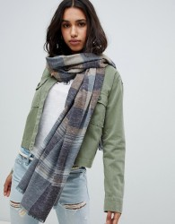 Abercrombie & Fitch check scarf - Pink
