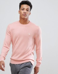 Abercrombie & Fitch Core Icon Moose Logo Crewneck Sweatshirt in Light Pink - Pink