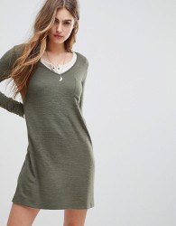 Abercrombie & Fitch Cosy Dress - Green