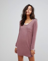 Abercrombie & Fitch Cosy Dress - Pink
