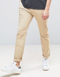 Abercrombie & Fitch Skinny Stretch Chino In Beige - Beige