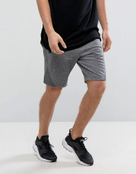 Abercrombie & Fitch Sports Shorts Stretch in Charcoal Marl - Grey