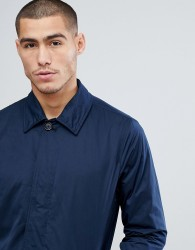 Abercrombie & Fitch Trench Mac in Navy - Navy