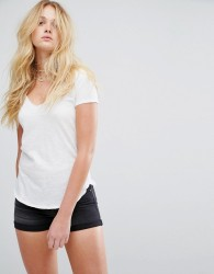 Abercrombie & Fitch Voop T-Shirt - White