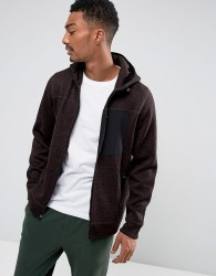 Abercrombie & Fitch Zipfront Hoodie Sports Fleece in Red - Red