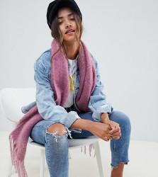 Accessorize lilac thick texture scarf - Purple