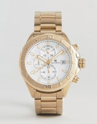 Accurist 7181.01 Chronograph Bracelet Watch In Gold - Gold