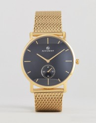 Accurist 7185.01 Mesh Watch In Gold - Gold