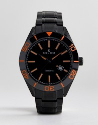 Accurist 7224 Bracelet Watch In Black - Black