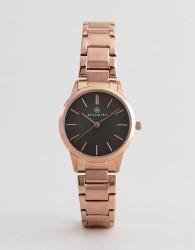 Accurist 8099 Rose Gold Bracelet Watch - Gold