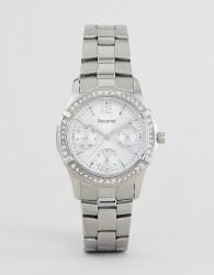 Accurist 8201 Silver Bracelet Chronograph Watch - Silver