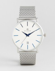 Accurist Silver Mesh Watch - Silver