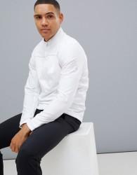 adidas Golf Go-To Half Zip Sweat In White - White