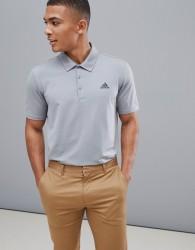 adidas Golf Ultimate 365 Polo In Grey - Grey