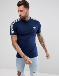 adidas Originals adicolor California T-Shirt In Navy CZ4546 - Navy