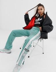 adidas Originals adicolor popper pants in vapour steel - Grey