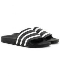 adidas Originals Adilette Flip Flop Black men UK12 - EU47 Sort