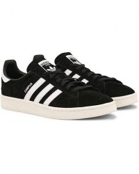 adidas Originals Campus Nubuck Sneaker Black men EU43 1/3 Sort