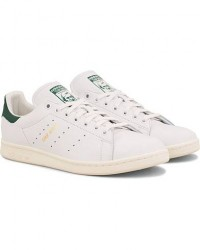 adidas Originals Stan Smith Leather Sneaker White/Green men EU40 Hvid