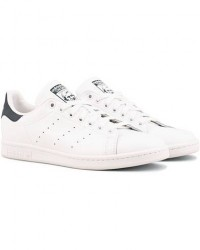 adidas Originals Stan Smith Leather Sneaker White/Navy men EU43 1/3 Hvid