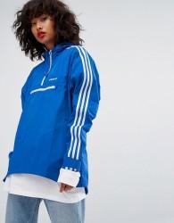 adidas Originals Tennoji Half Zip In Blue - Blue