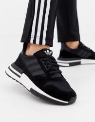 adidas Originals Zx 500 Rm Trainers In Black - Black