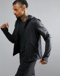 adidas Running Pure AMP Jacket In Black AP9753 - Black