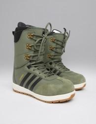 adidas Snowboarding Samba ADV Snowboard Boots in Green - Green
