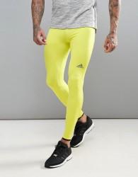 Adidas Training Tech Fit Hero Gym Tights - Green