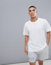 adidas ZNE 2 T-Shirt In White CE9552 - White