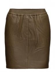 Adina Leather Skirt
