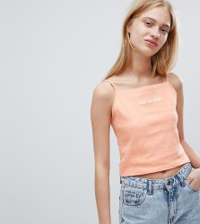 Adolescent Clothing 90's cami with not ur m8 print - Pink