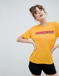 Adolescent Clothing hungover t-shirt and shorts pyjama set - Multi