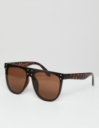 AJ Morgan Aviator Sunglasses In Tort - Brown
