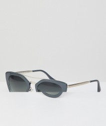 AJ Morgan Cat Eye Sunglasses In Grey - Grey