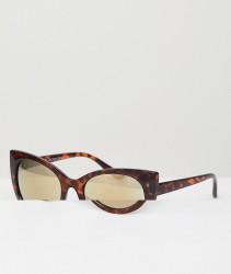 AJ Morgan Cat Eye Sunglasses In Tort - Brown