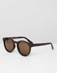 AJ Morgan round sunglasses - Black