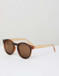 AJ Morgan round sunglasses - Brown