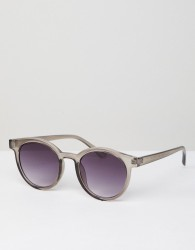 AJ Morgan Round Sunglasses In Grey - Grey
