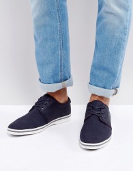 ALDO Adrauni Lace Up Shoes In Navy - Navy