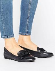 ALDO Bow Detail Flat Ballerina Shoes - Black
