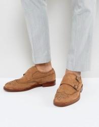 ALDO Briladien Leather Toe Cap Oxford Shoes - Brown