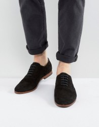Aldo Coallan Derby Shoes In Black Suede - Black